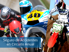 Seguro de Accidente en Circuito Anual