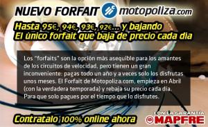 forfait de temporada MAPFRE - Motopoliza.com