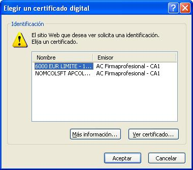 Consultar puntos del carnet con certificado digital