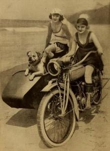 moto en verano