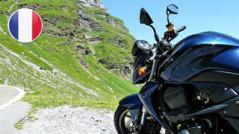 motos por españa, francés