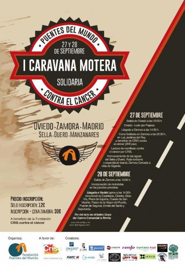 I Caravana Motera Contra el Cáncer