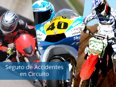 seguro de accidente en circuito