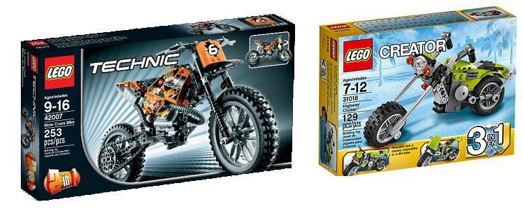 Motos Lego