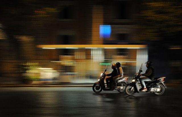 Las ciudades con más motos