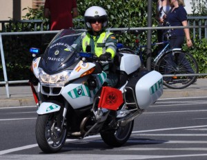 guardia civil moto