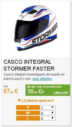 casco integral stormer tienda motopoliza