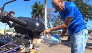 Moto que funciona con agua
