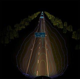 iluminacion laser faros bmw motorrad