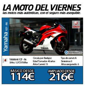 La moto del viernes YAMAHA YZF - R6