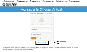 C mo darte de alta en tu oficina virtual for Tu oficina virtual