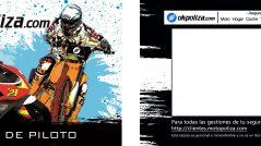 Tarjeta de piloto de Motopoliza