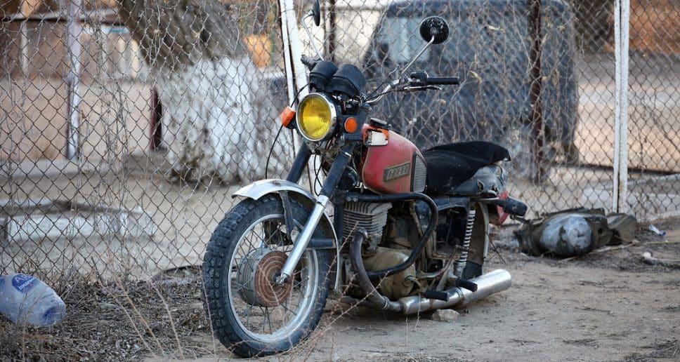 Cómo actuar en caso de siniestro total de la moto