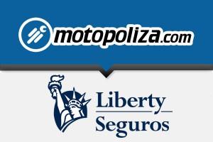 Seguros de moto Liberty en Motopoliza.com. Todo Riesgo con Colisión.