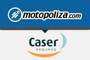 Seguros de moto Caser con Motopoliza.com. Seguro de moto Terceros ampliado más robo total
