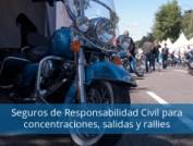Seguros de Responsabilidad Civil para concentraciones, salidas y rallies de motopoliza.com