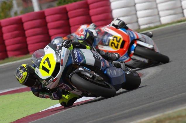 Team Stratos en el CEV Navarra