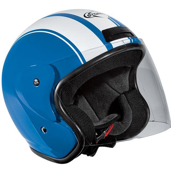 Tipos de casco de moto - Casco Jet Casque Stormer Sun Strip
