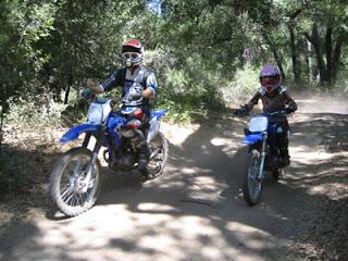 La contaminación de las motos de trial