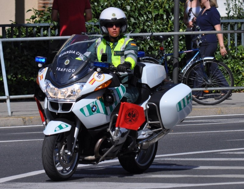 191 Quieres Una Moto De La Guardia Civil