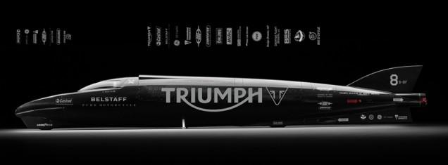 Triumph Rocket Streamliner record de velocidad
