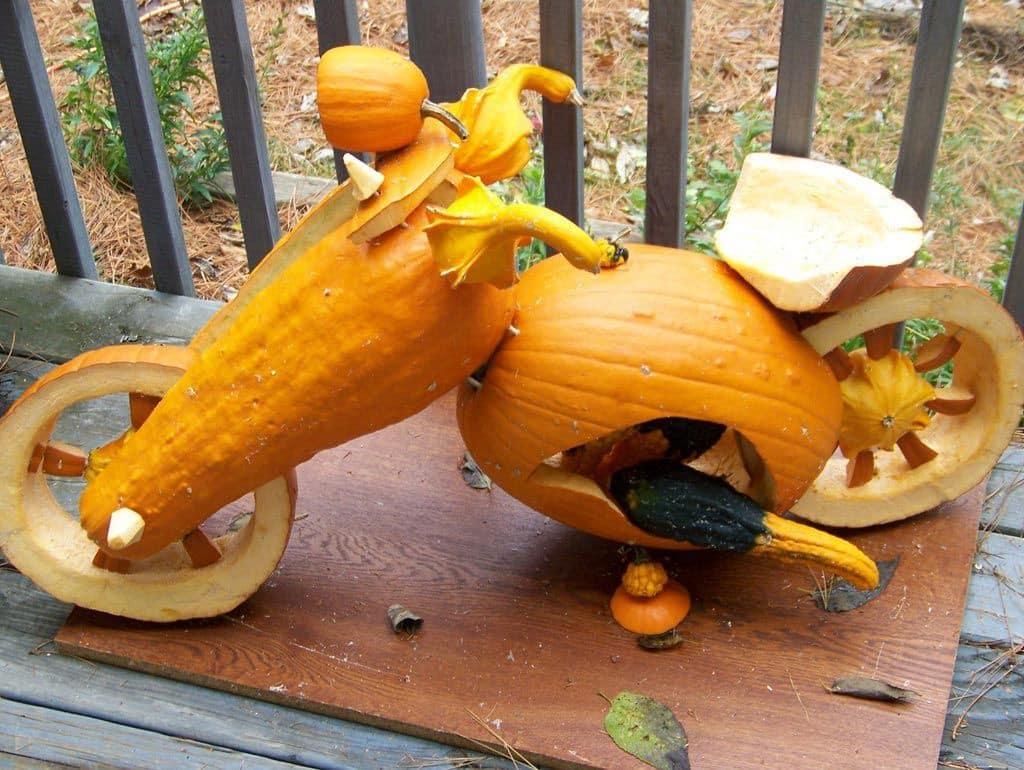 moto de calabaza