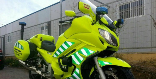 moto guardia civil fostorita
