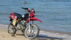 moto de vacaciones