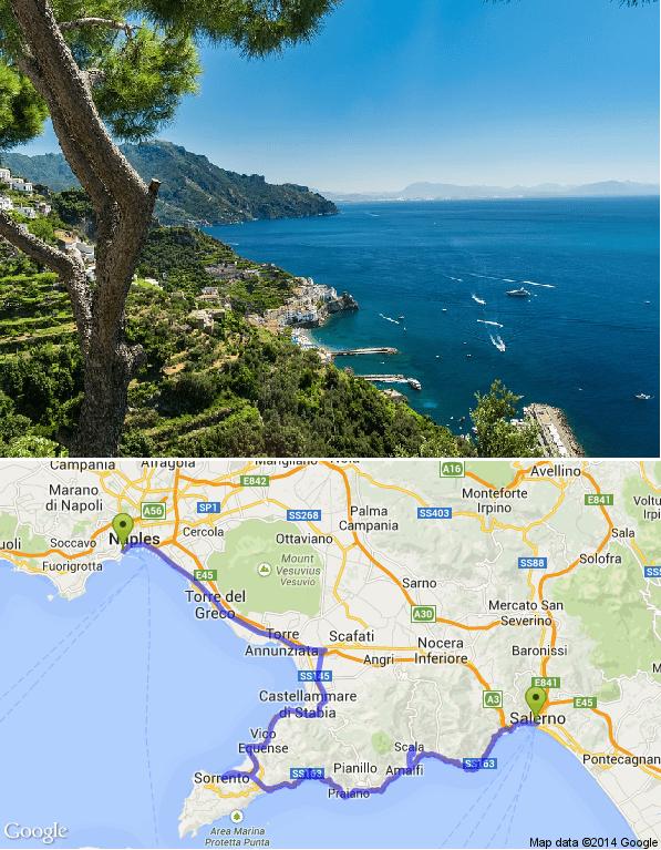 Las mejores rutas moteras - La Costa Amalfitana