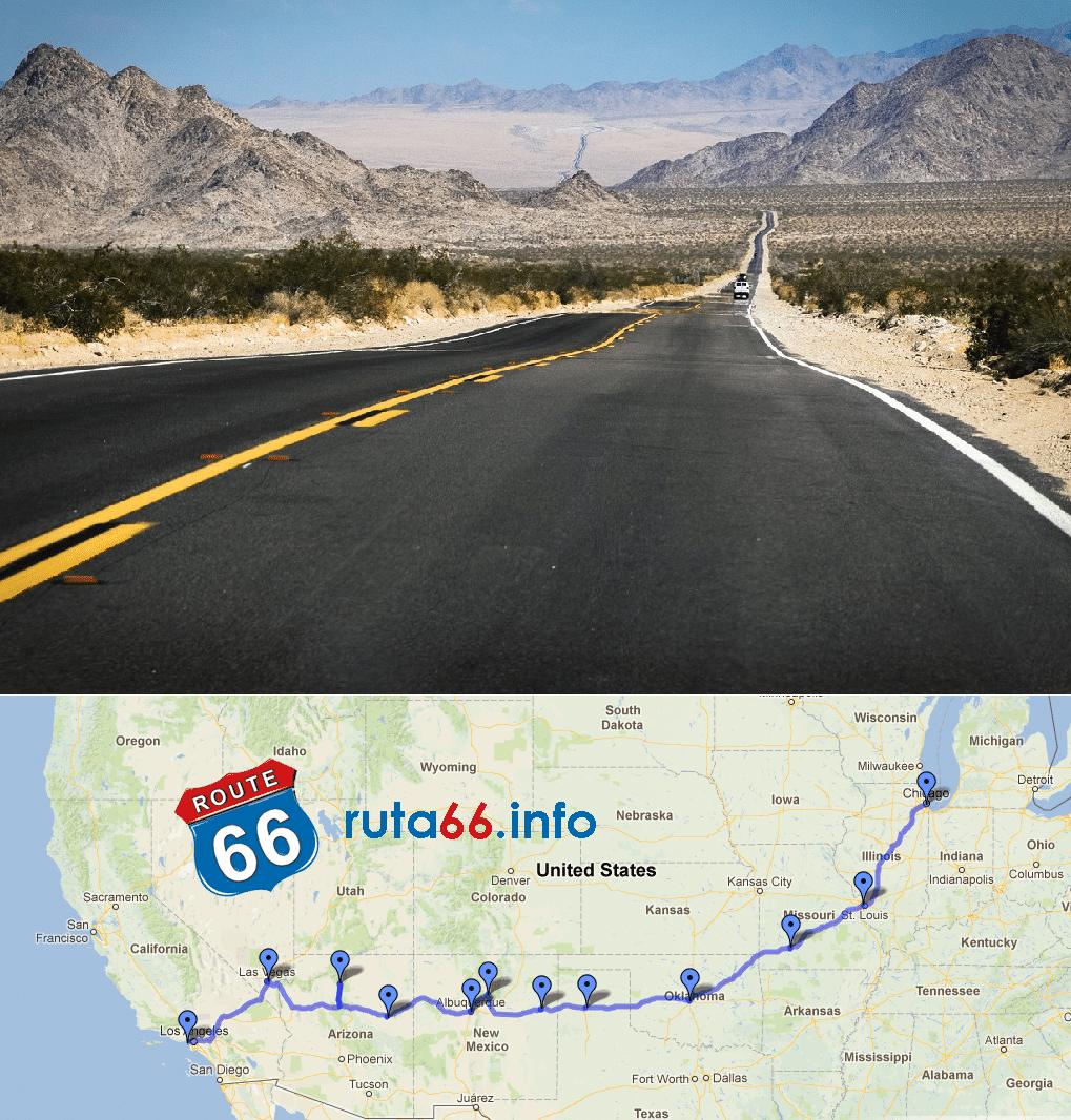 Las rutas preferidas por los moteros - Ruta 66